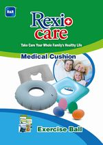 REXICARE MEDICAL CUSHION & EXERCISE BALL
