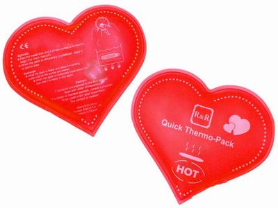 R&R QUICK THERMO-PACK (HEART SHAPE)
